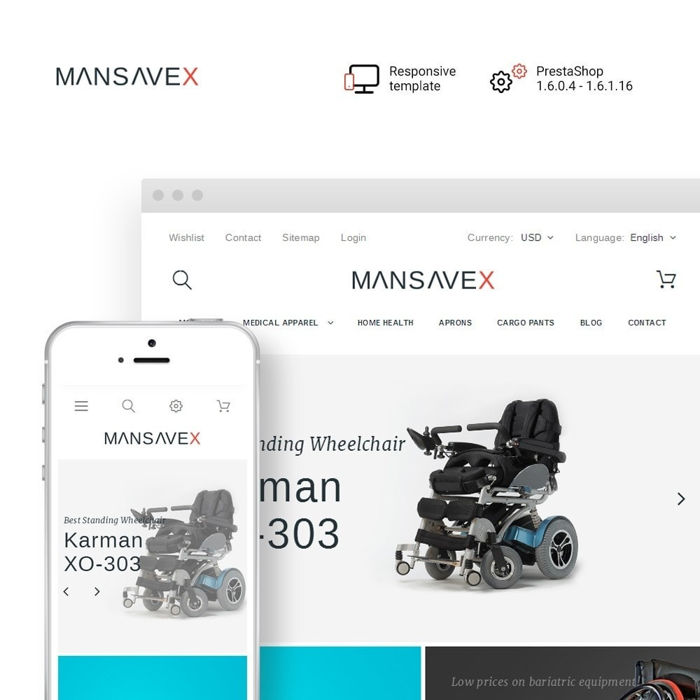 theme - Zdrowie & Uroda - Mansavex - Medical Equipment - 1