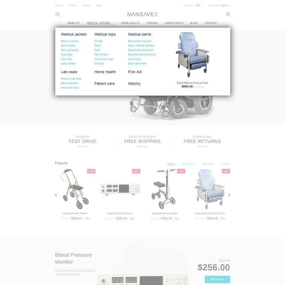 theme - Здоровье и красота - Mansavex - шаблон на тему медицинское оборудование - 5