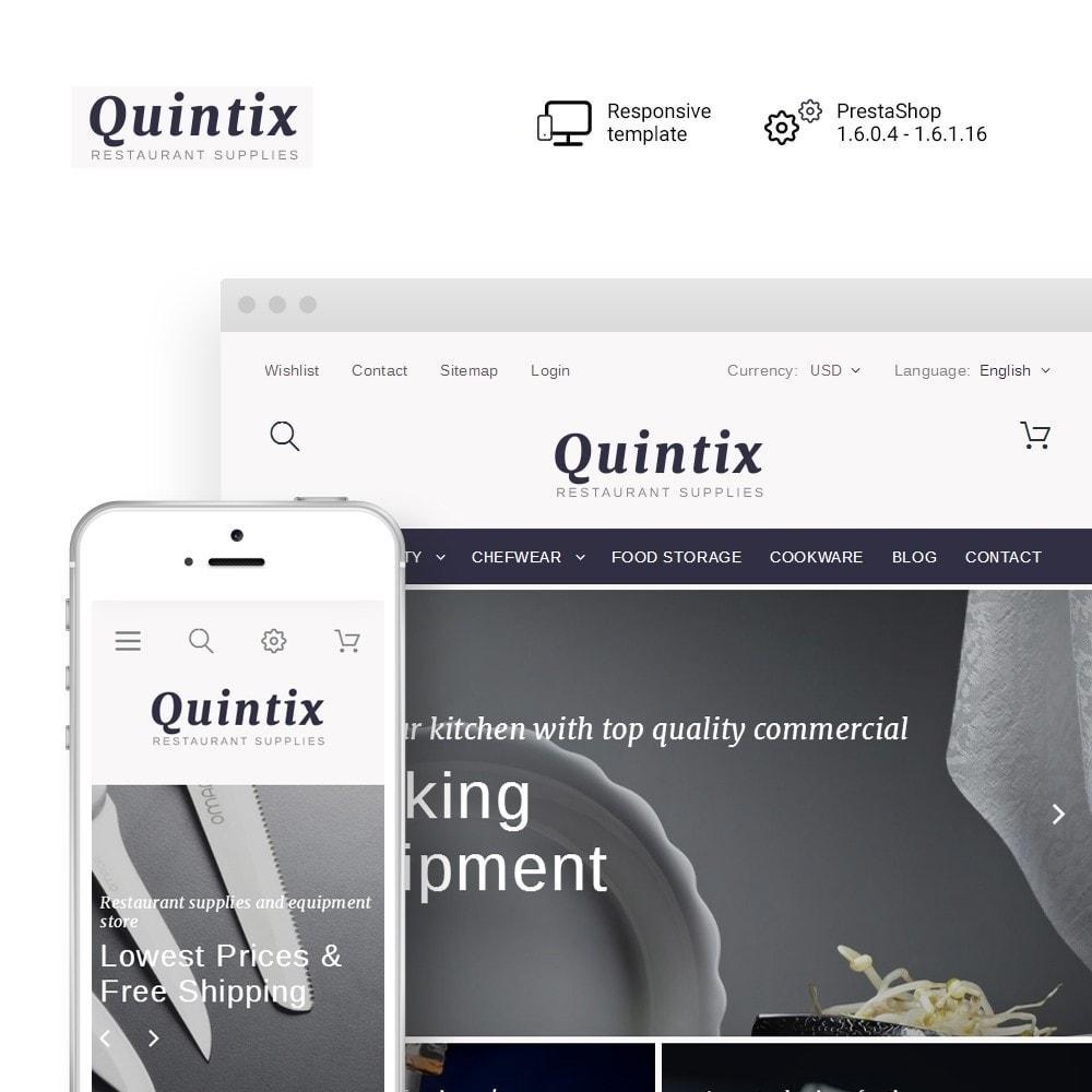 theme - Kultura & Sztuka - Quintix - Restaurant Supplies - 1