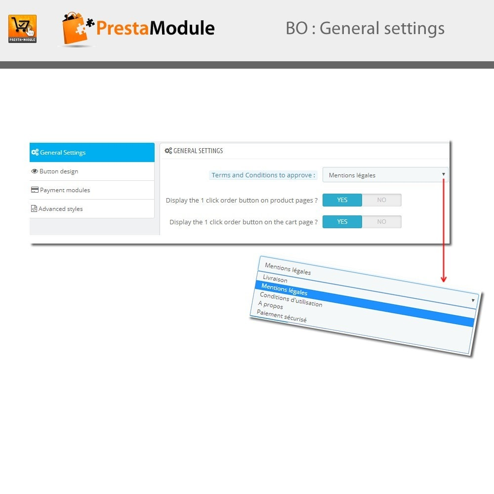module - Pagamento por cartão ou por carteira - One Click Order - Compra com um clique - 4