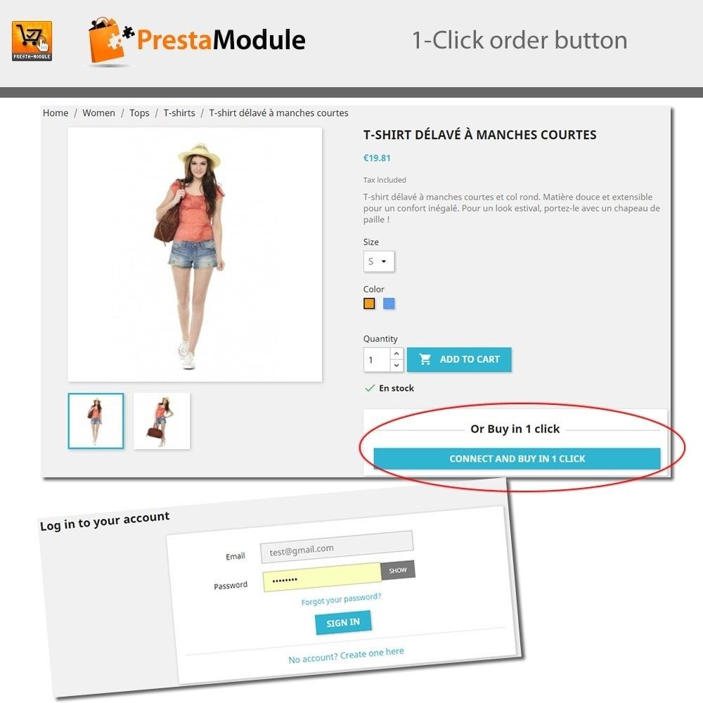 module - Express Checkout - One Click Order - 7