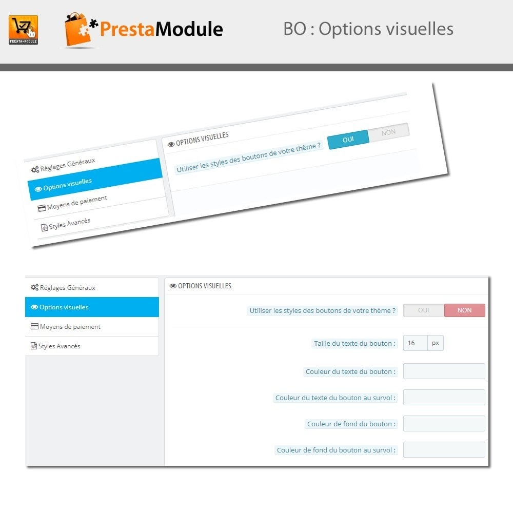 module - Paiement par Carte ou Wallet - One Click Order - Achat en un clic - 5