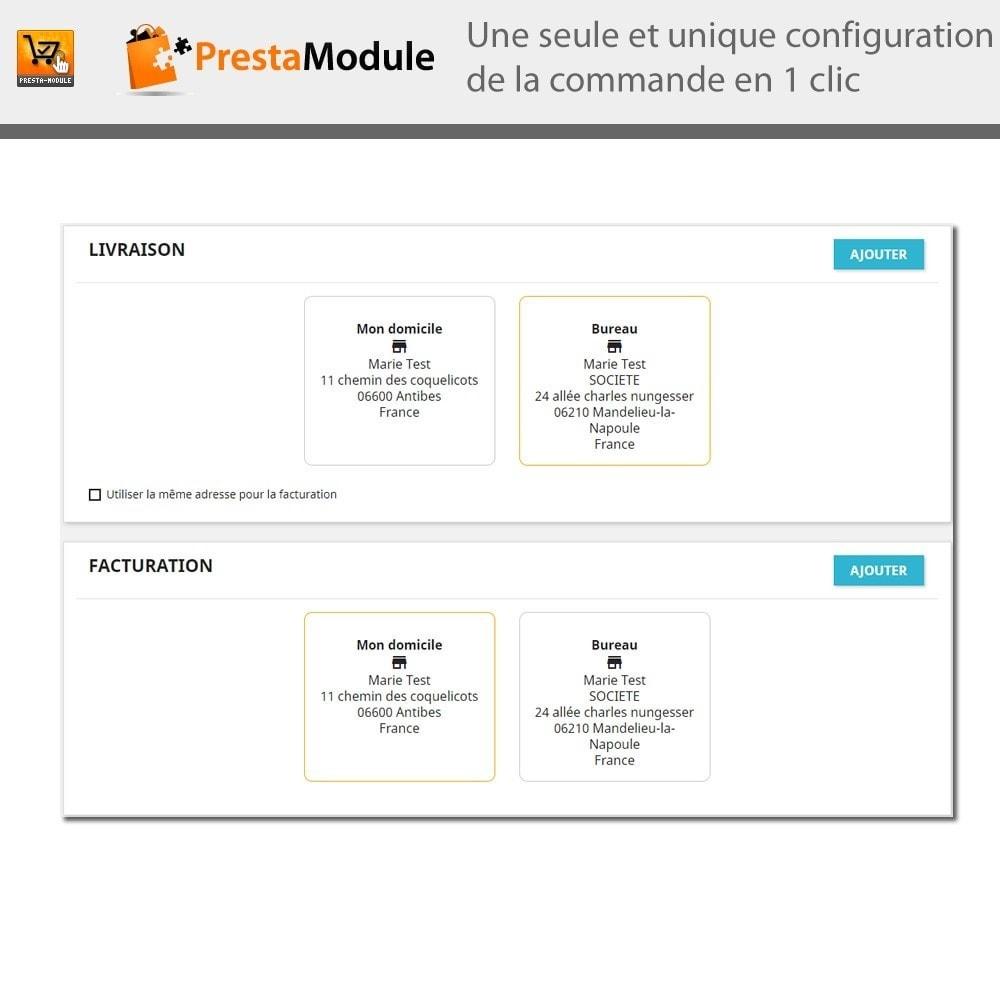 module - Paiement par Carte ou Wallet - One Click Order - 8