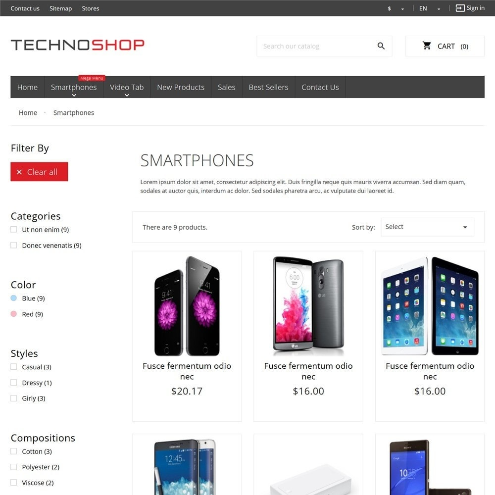 theme - Eletrônicos & High Tech - TechnoShop - 7