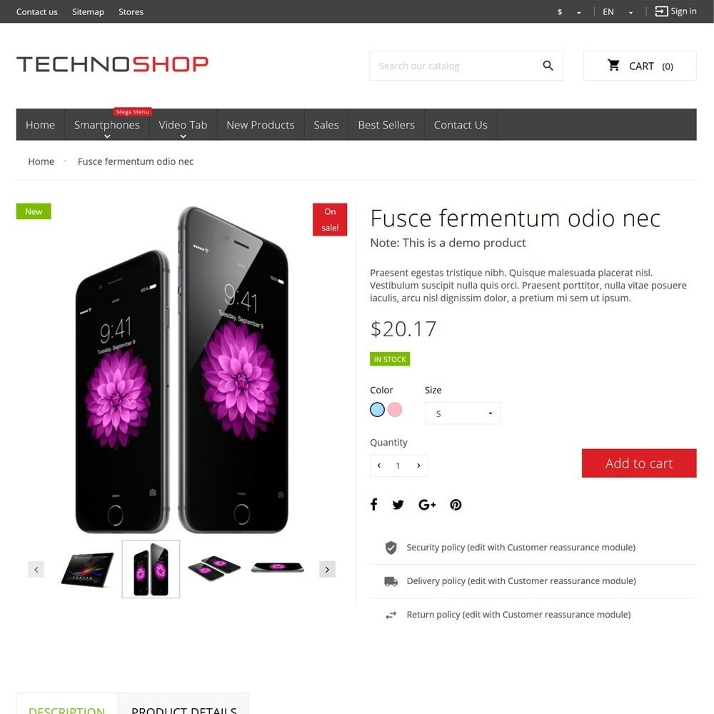 theme - Eletrônicos & High Tech - TechnoShop - 8