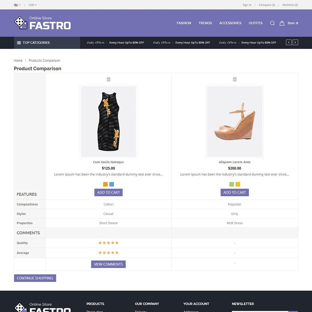 theme - Fashion & Shoes - Fastro Fashion Store - 7