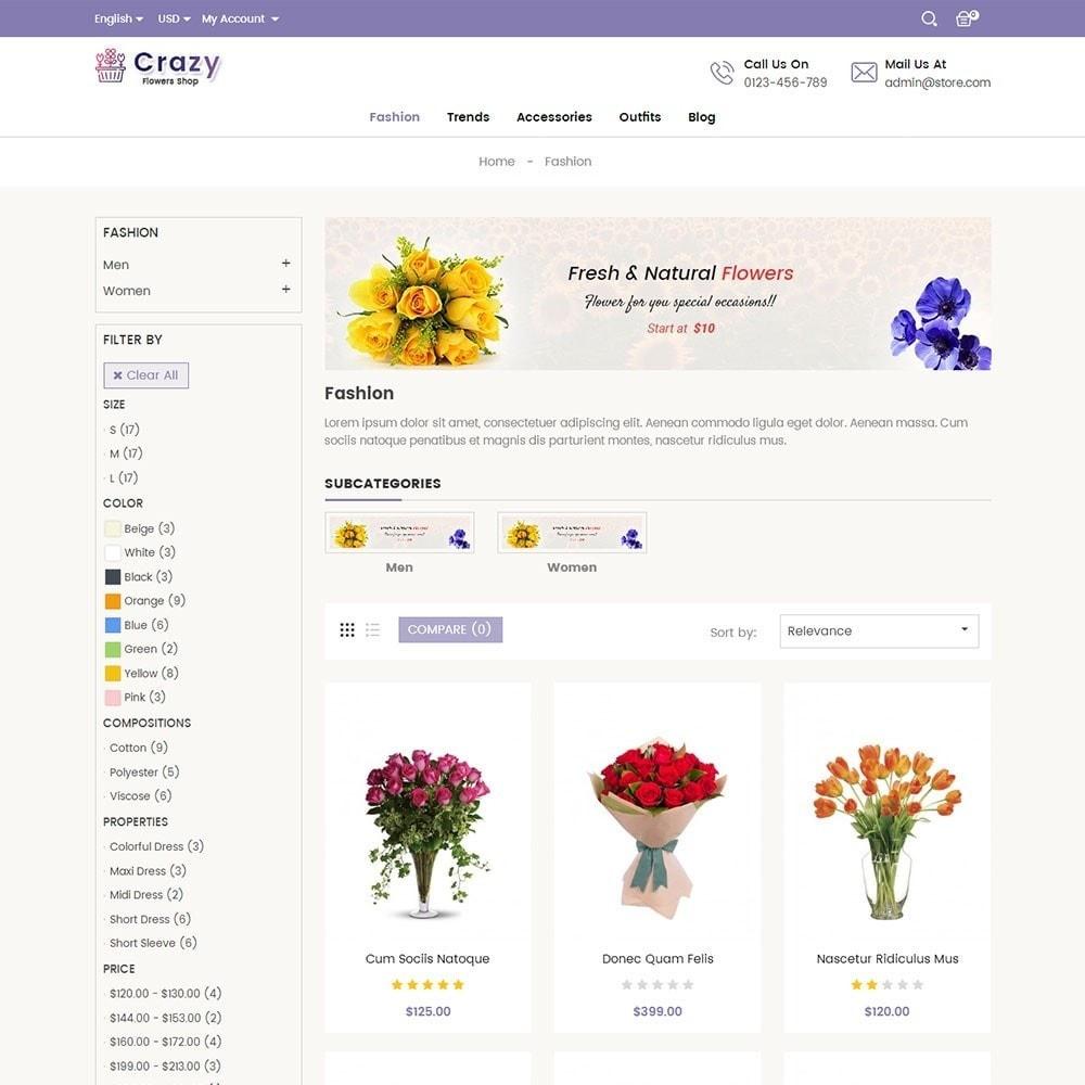 theme - Presentes, Flores & Comemorações - Crazy Flower Store - 3