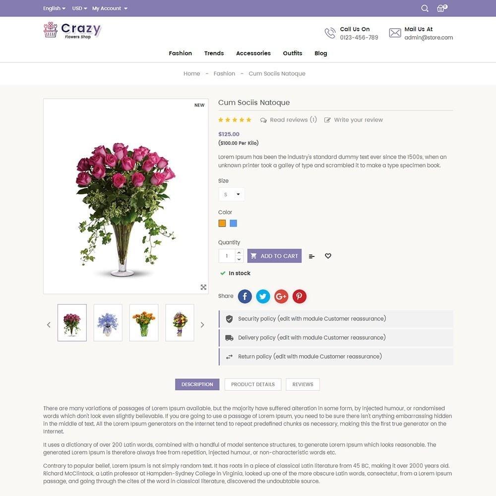 theme - Presentes, Flores & Comemorações - Crazy Flower Store - 5