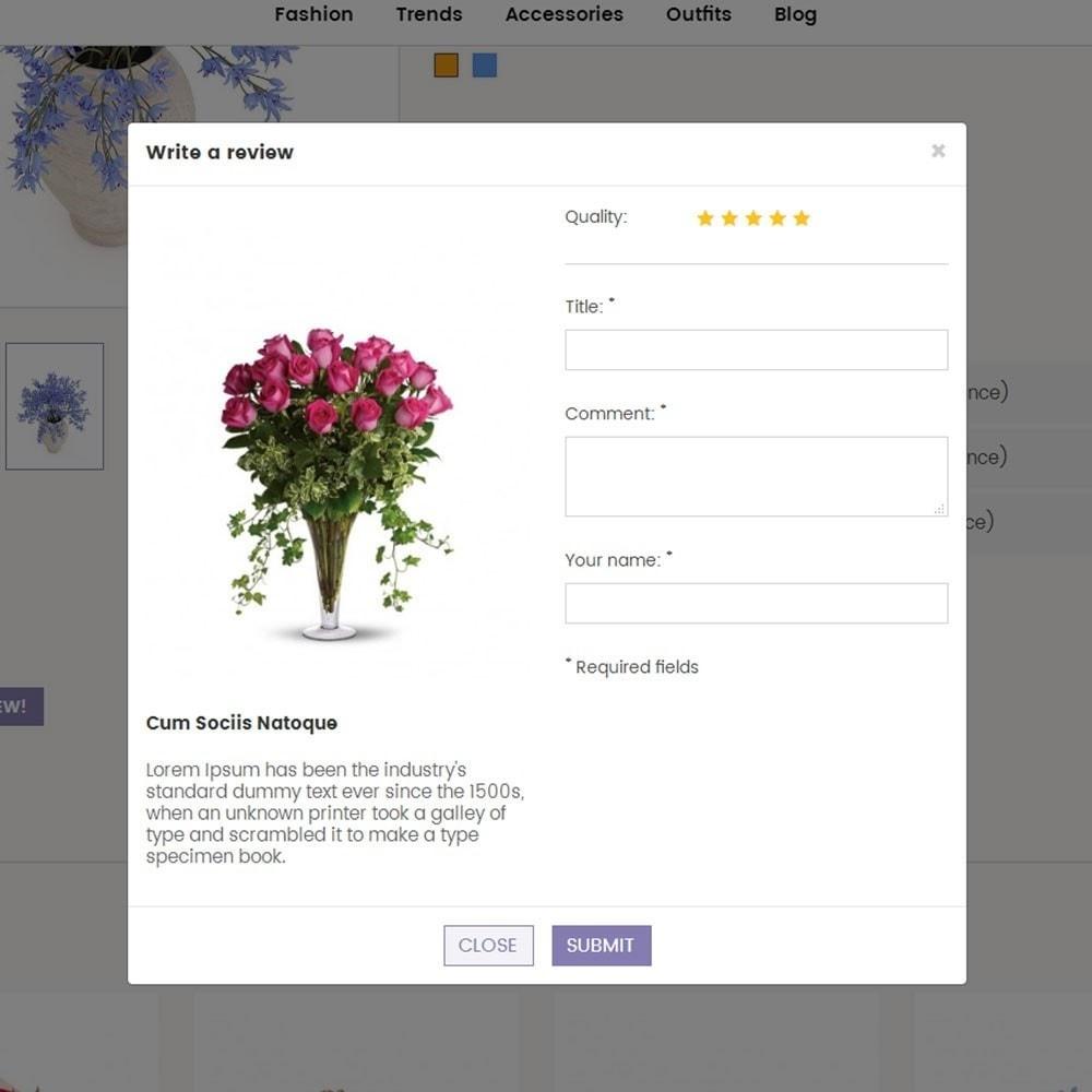 theme - Presentes, Flores & Comemorações - Crazy Flower Store - 6