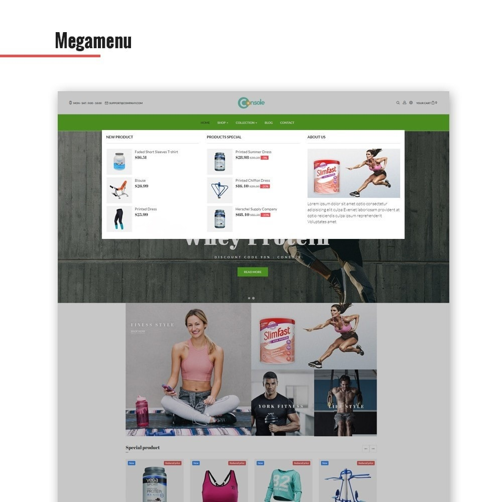 theme - Sports, Activities & Travel - Ap Console - Sport & Gym - 3
