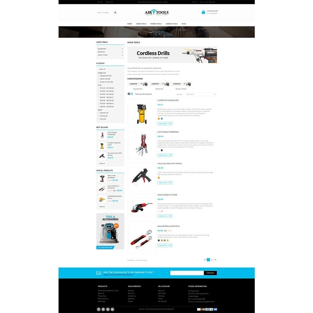 theme - Auto & Moto - Air Tools Store V2 - 4
