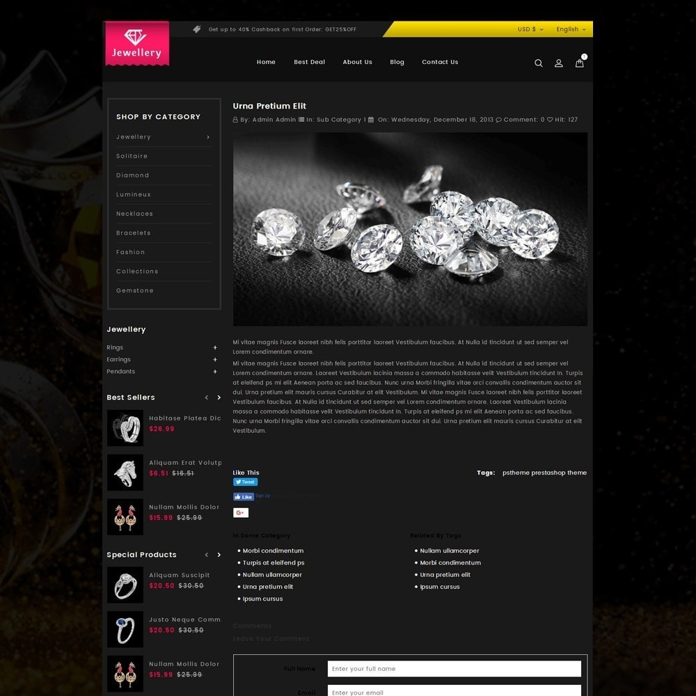 theme - Sieraden & Accessoires - Jewellery Store - 6