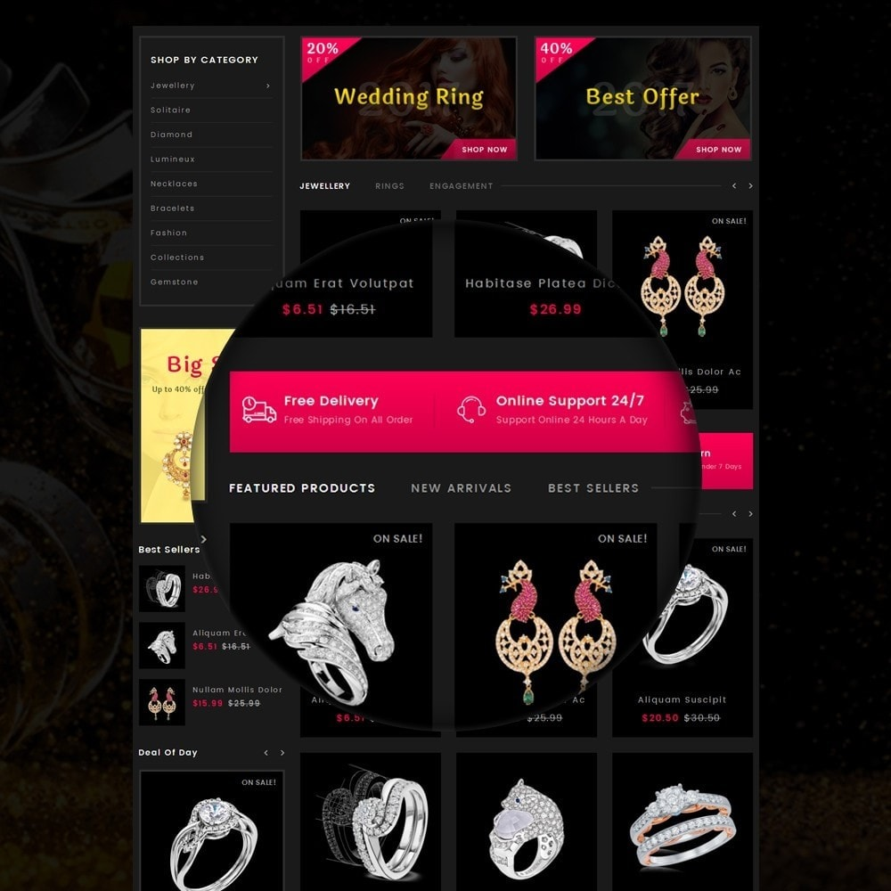 theme - Sieraden & Accessoires - Jewellery Store - 9