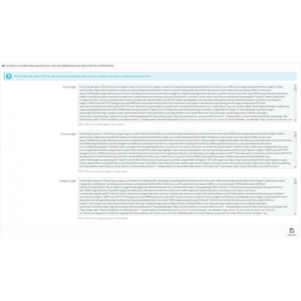 module - Rendimiento del sitio web - Critical Path CSS Manager - 4