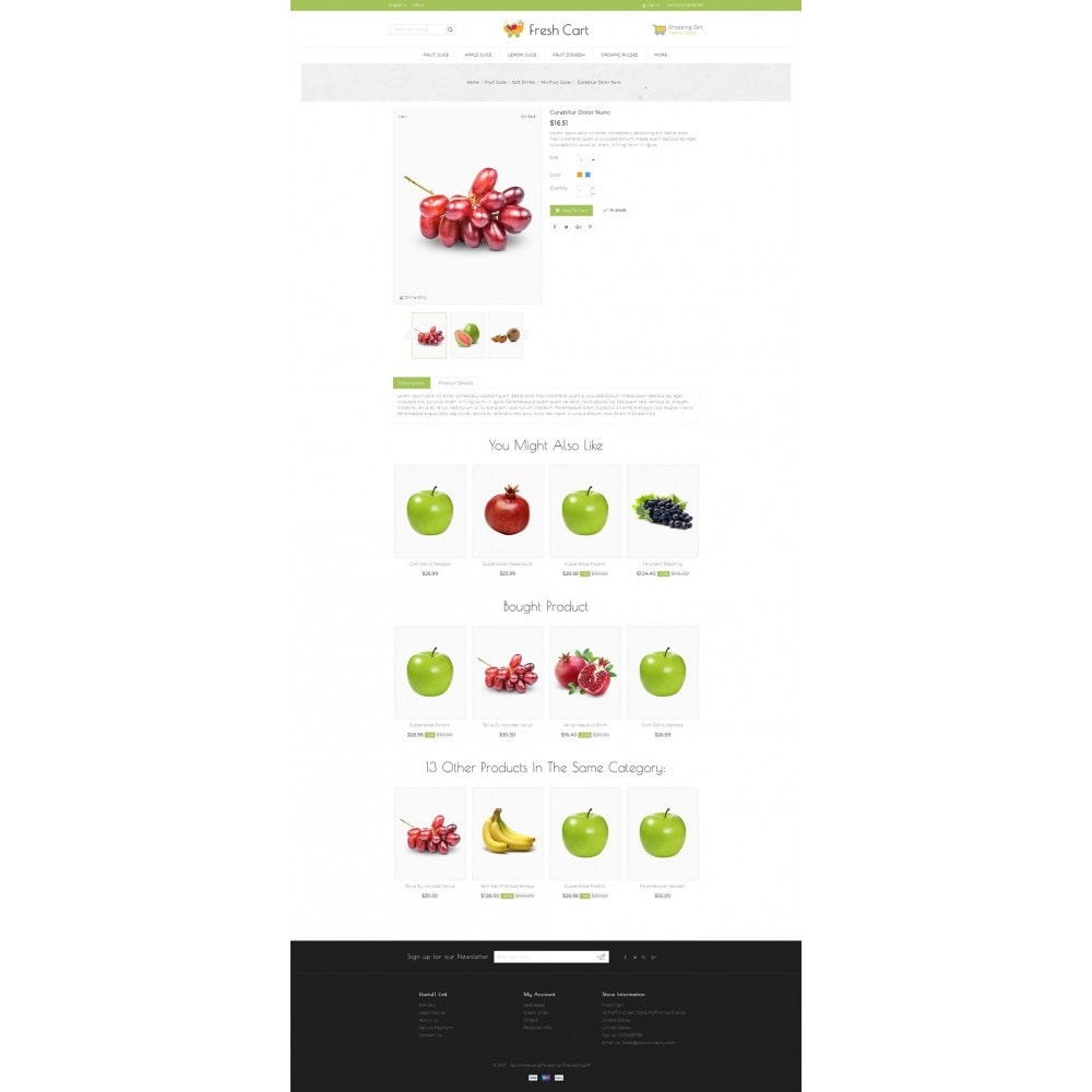 theme - Lebensmittel & Restaurants - Fresh Cart Food Store - 5