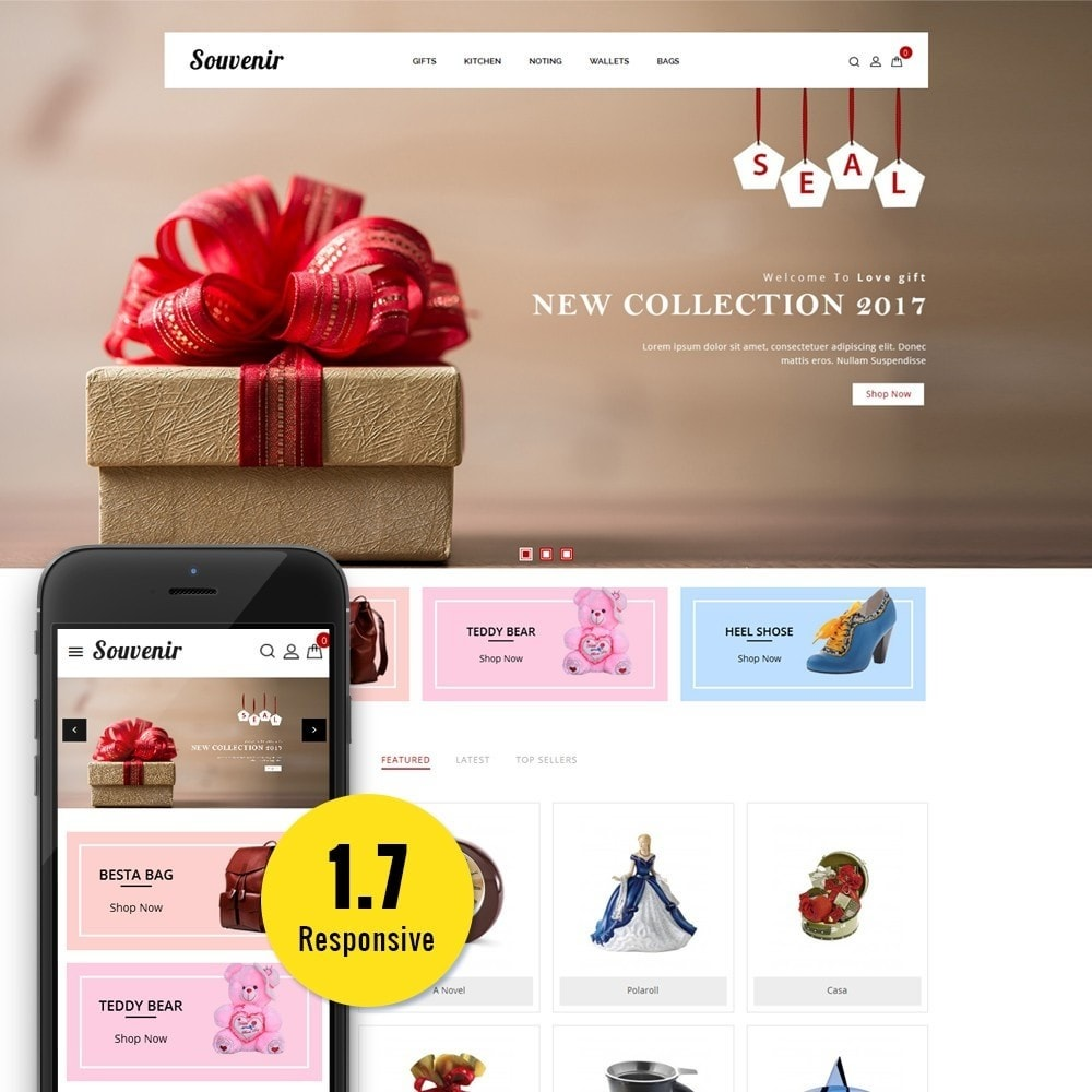 theme - Подарки, Цветы и праздничные товары - Sovunier Store - 1