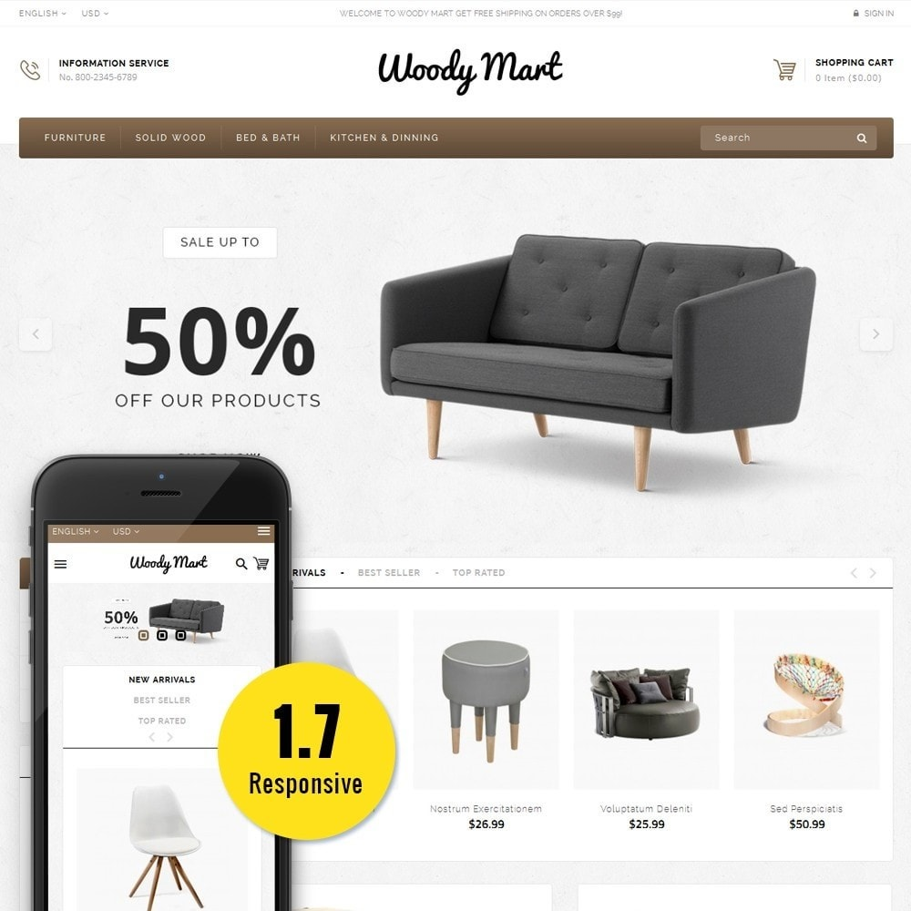 theme - Home & Garden - WoodyMart Store - 1