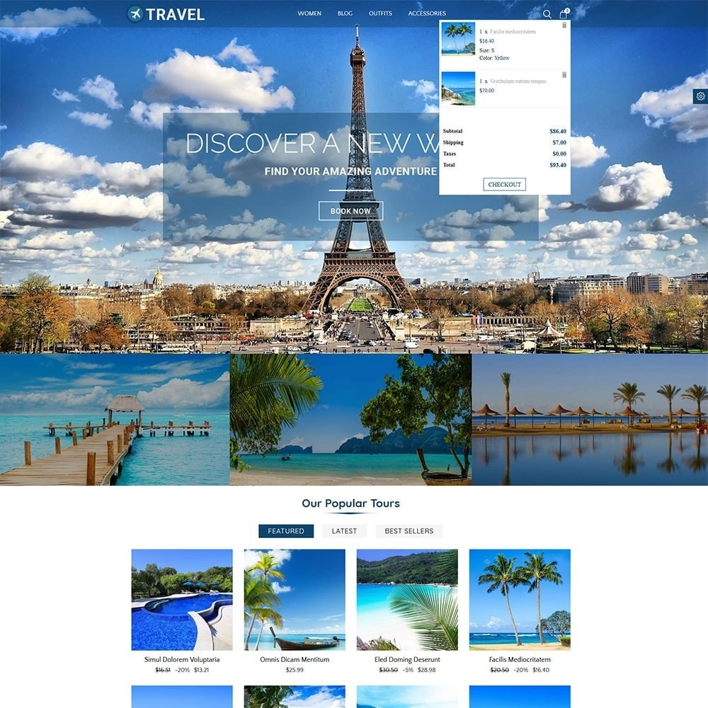 theme - Sport, Loisirs & Voyage - Travel Store - 5