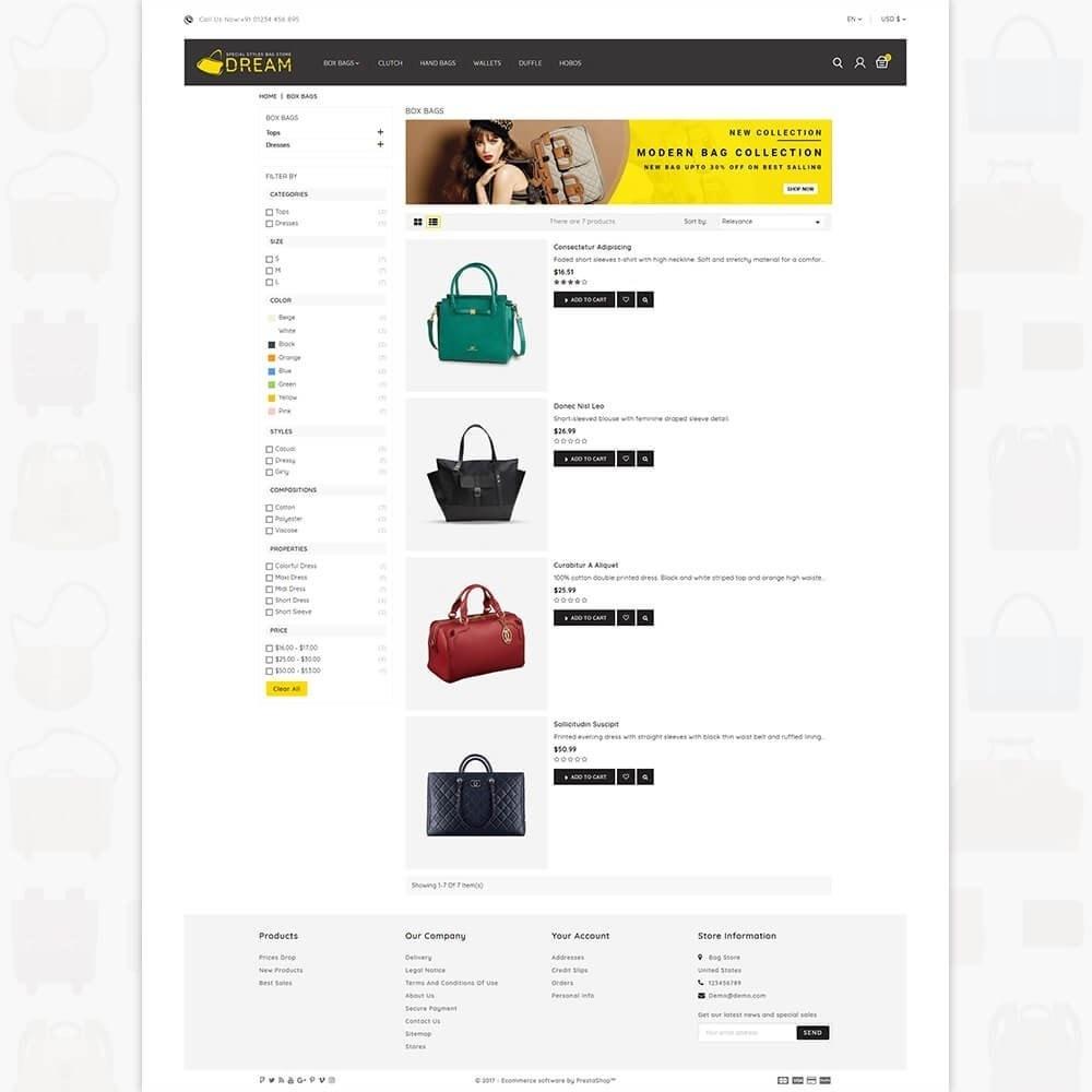 theme - Sport, Aktivitäten & Reise - Dream Bag Store - 4