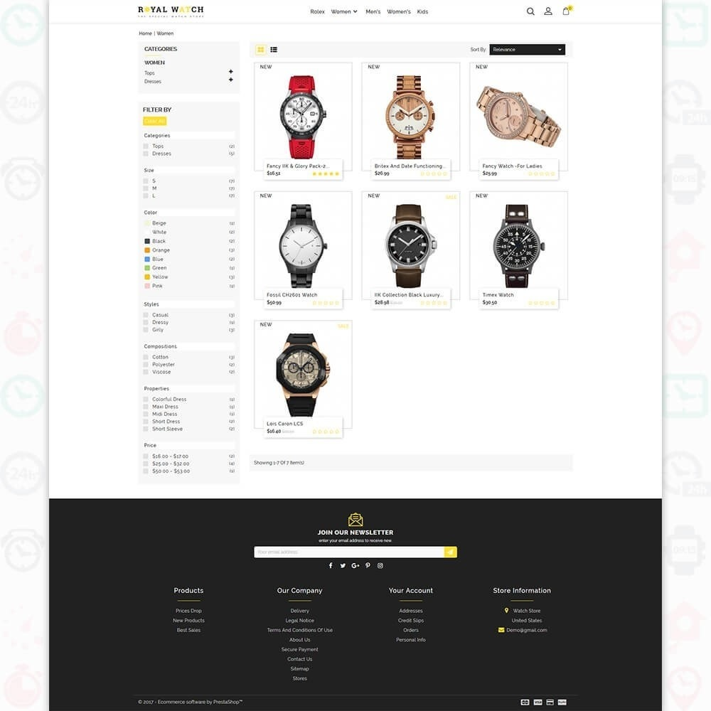 theme - Electronique & High Tech - Royal Watch - The Special Watch Store - 3