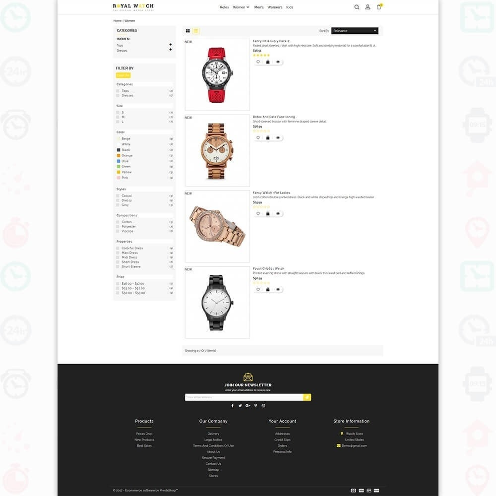 theme - Electronique & High Tech - Royal Watch - The Special Watch Store - 4