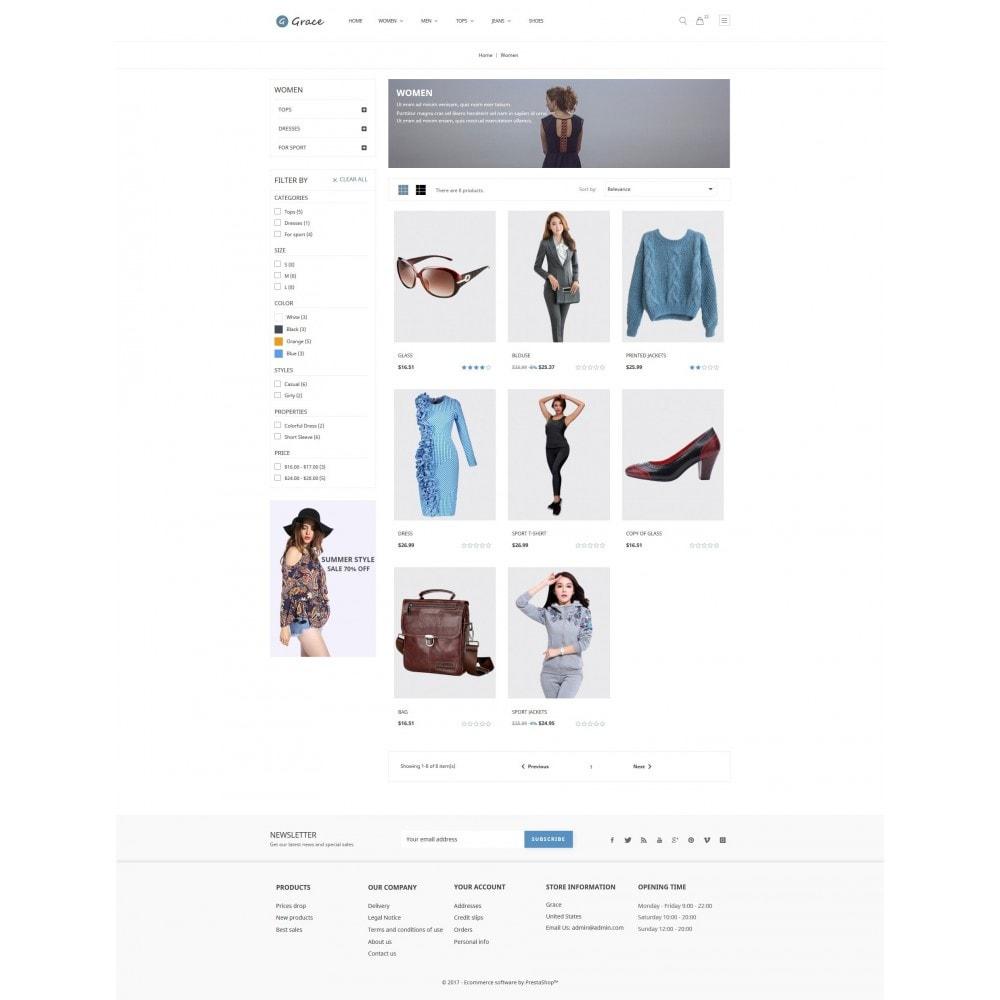 theme - Fashion & Shoes - Grace - 3