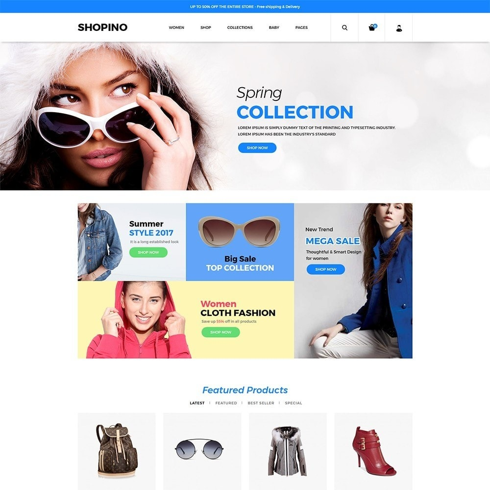 theme - Мода и обувь - Shopimo Fashion Store - 2
