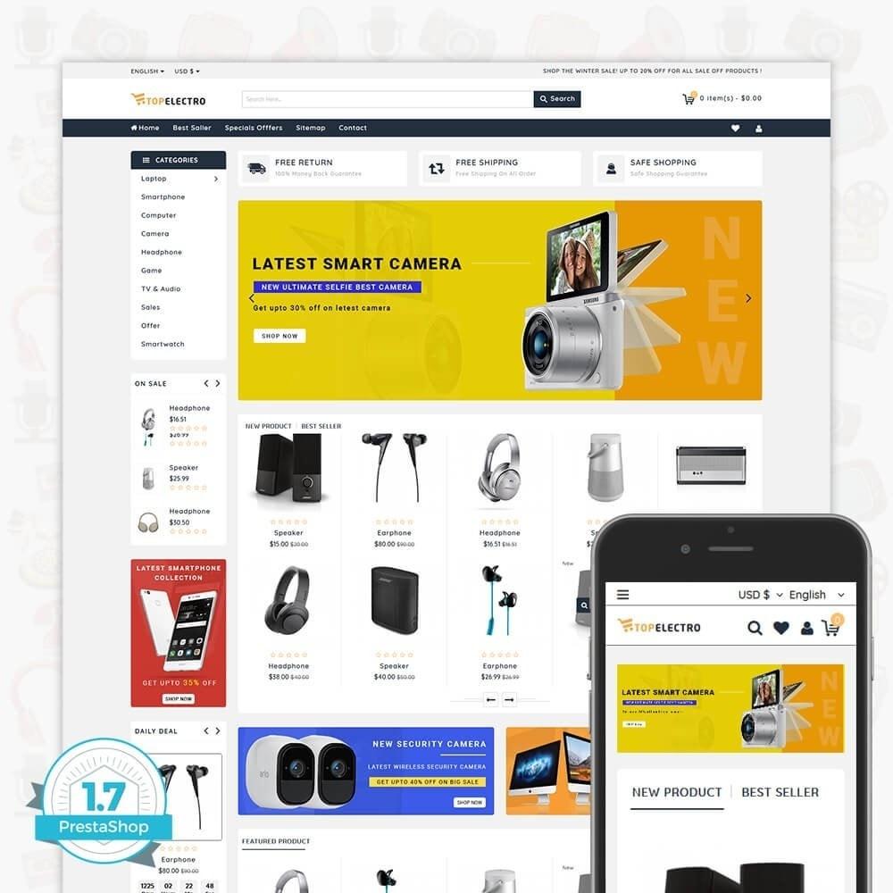 theme - Elektronik & High Tech - TopElectro Electronics Store - 1