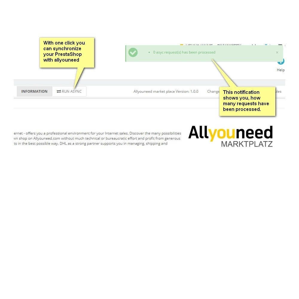 module - Revenda (marketplace) - Allyouneed Connector to DHL Marketplace - 6