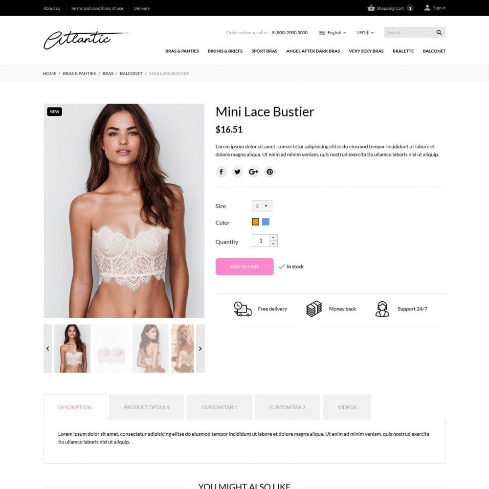 theme - Lingerie & Adultos - Atlantic Lingerie Shop - 7