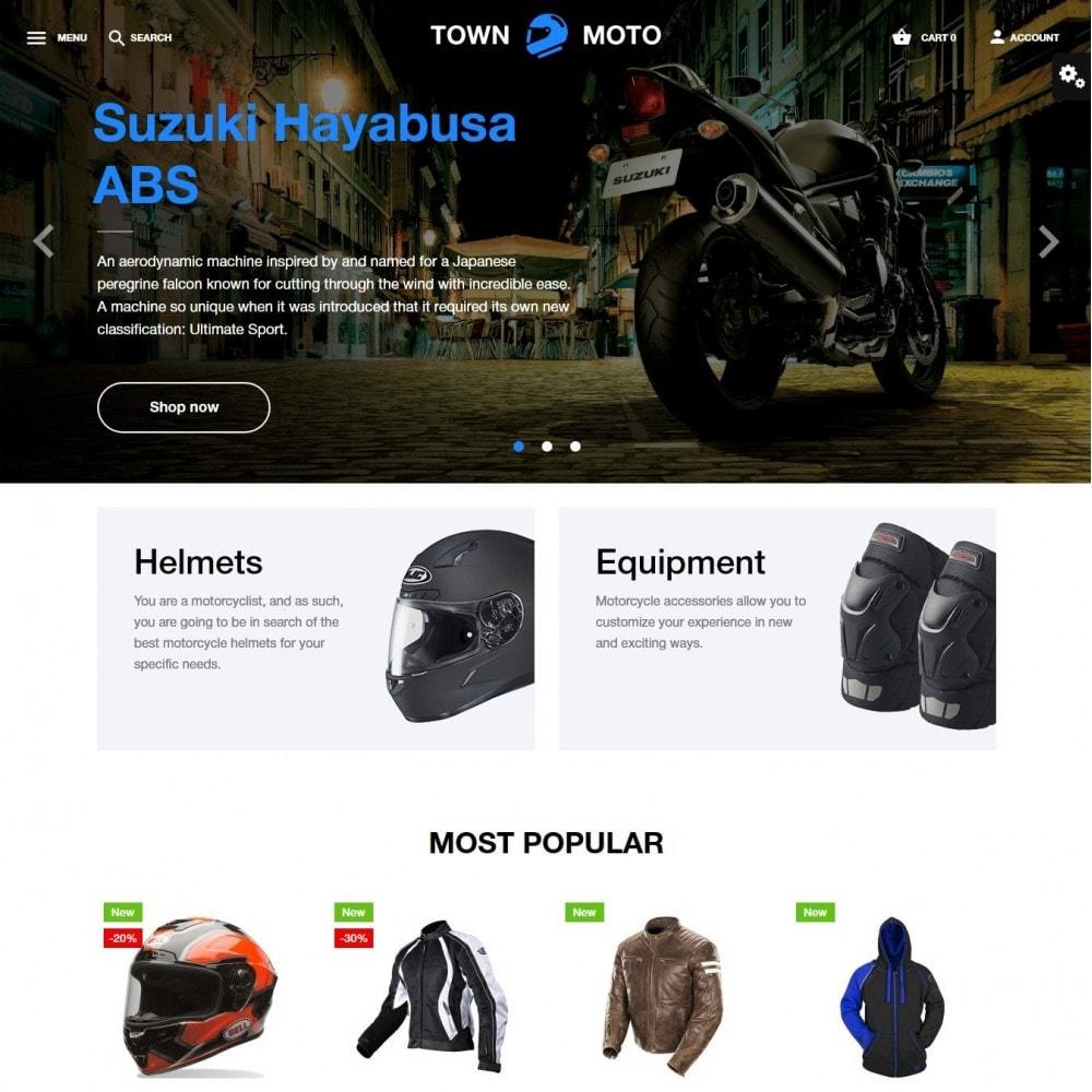 theme - Automotive & Cars - Town Moto - 2