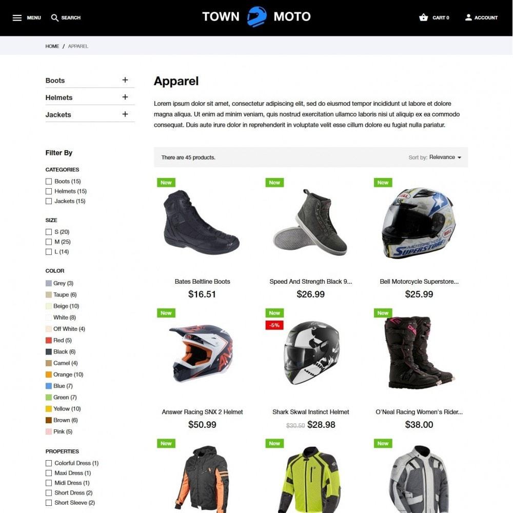 theme - Autos & Motorräder - Town Moto - 5