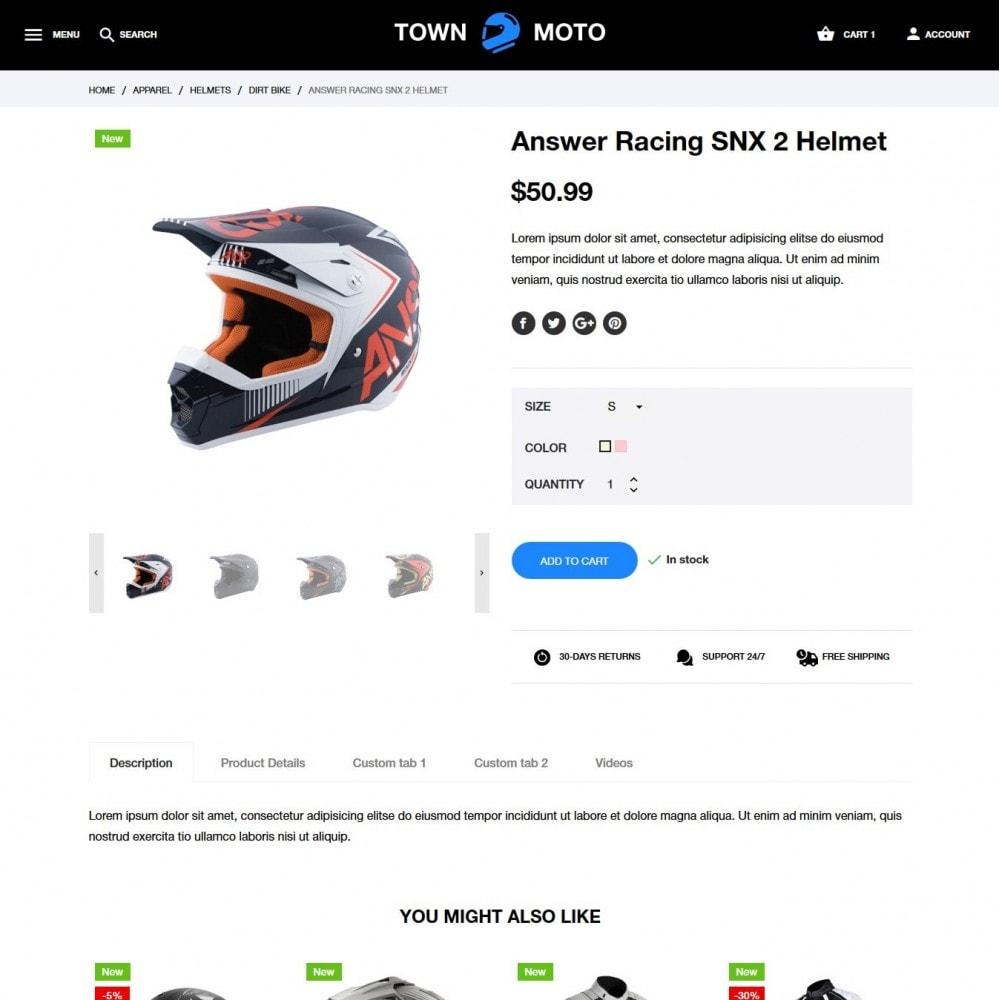 theme - Autos & Motorräder - Town Moto - 6