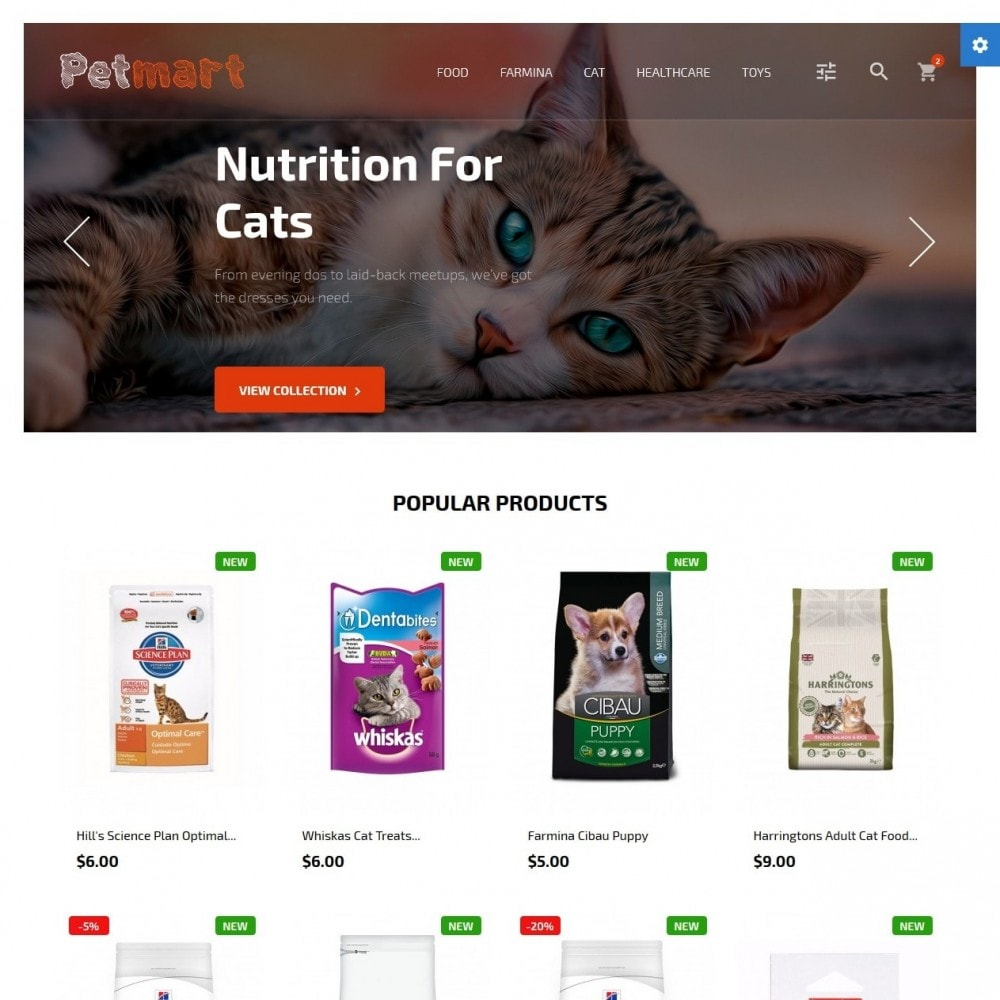 theme - Animali - Petmart - 2