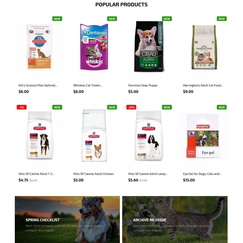 theme - Animaux - Petmart - 3