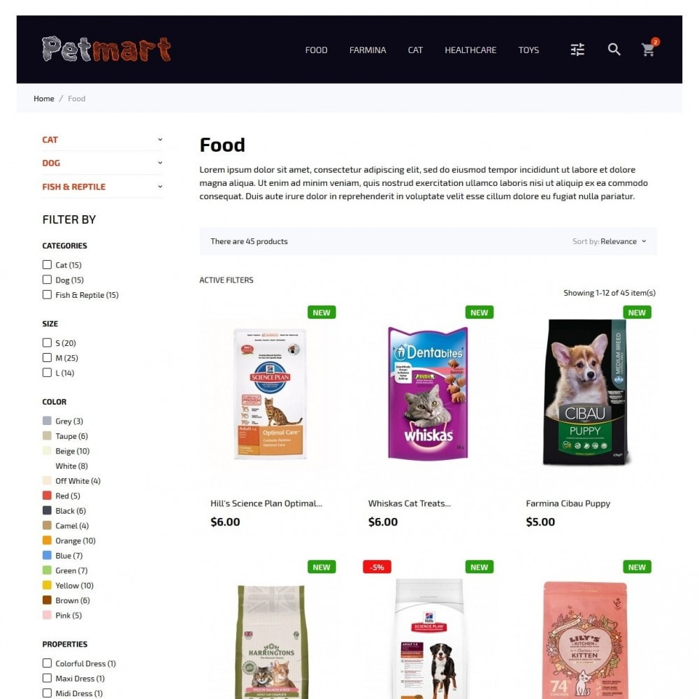 theme - Animali - Petmart - 5