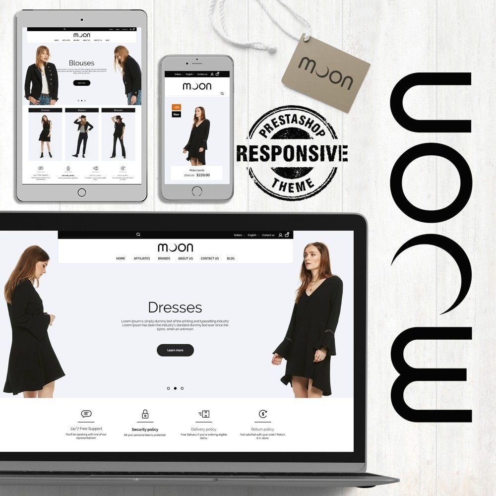 theme - Mode & Schoenen - Moon Fashion Store - 1