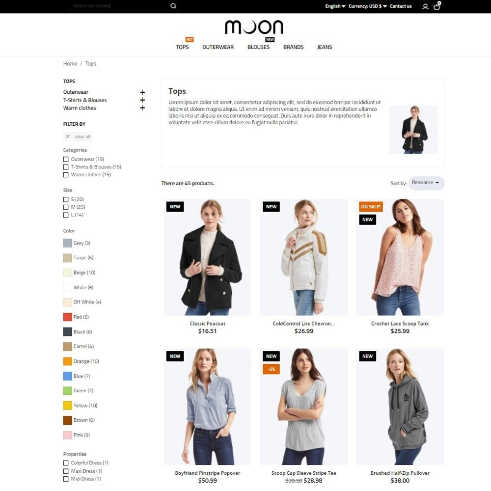 theme - Mode & Schoenen - Moon Fashion Store - 6