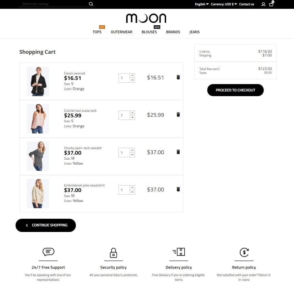 theme - Mode & Schoenen - Moon Fashion Store - 7