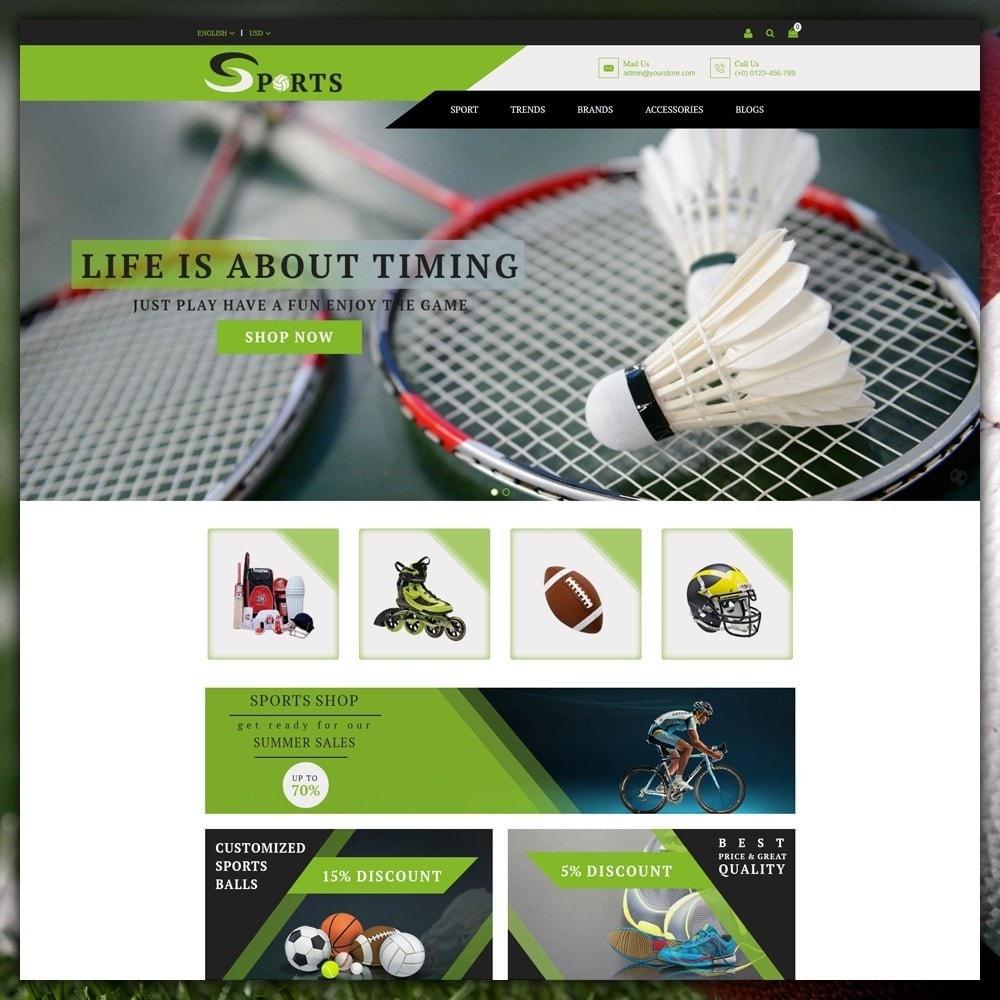 theme - Sport, Activiteiten & Reizen - Sport Shop - 2