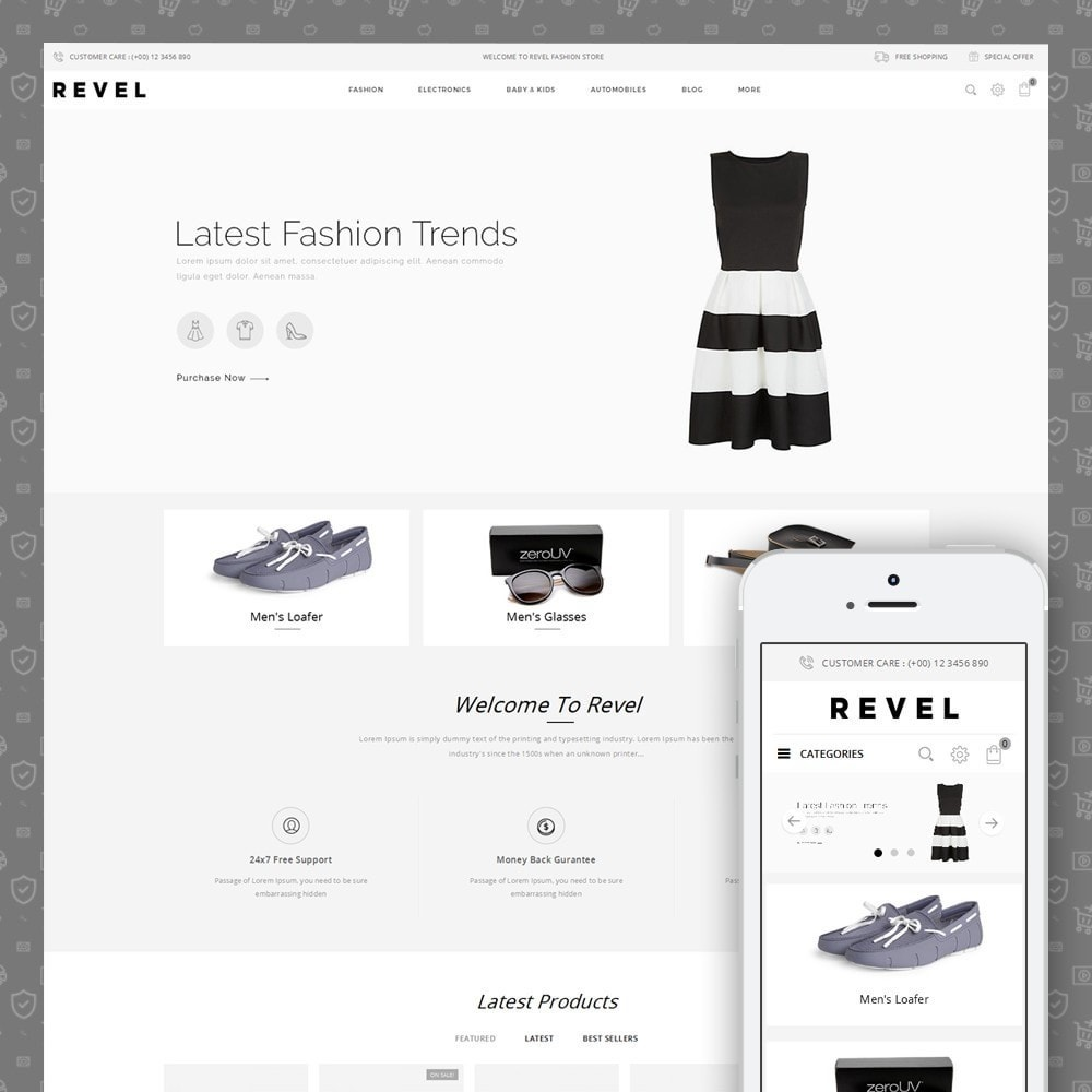 theme - Mode & Chaussures - Revel Fashion Store - 1