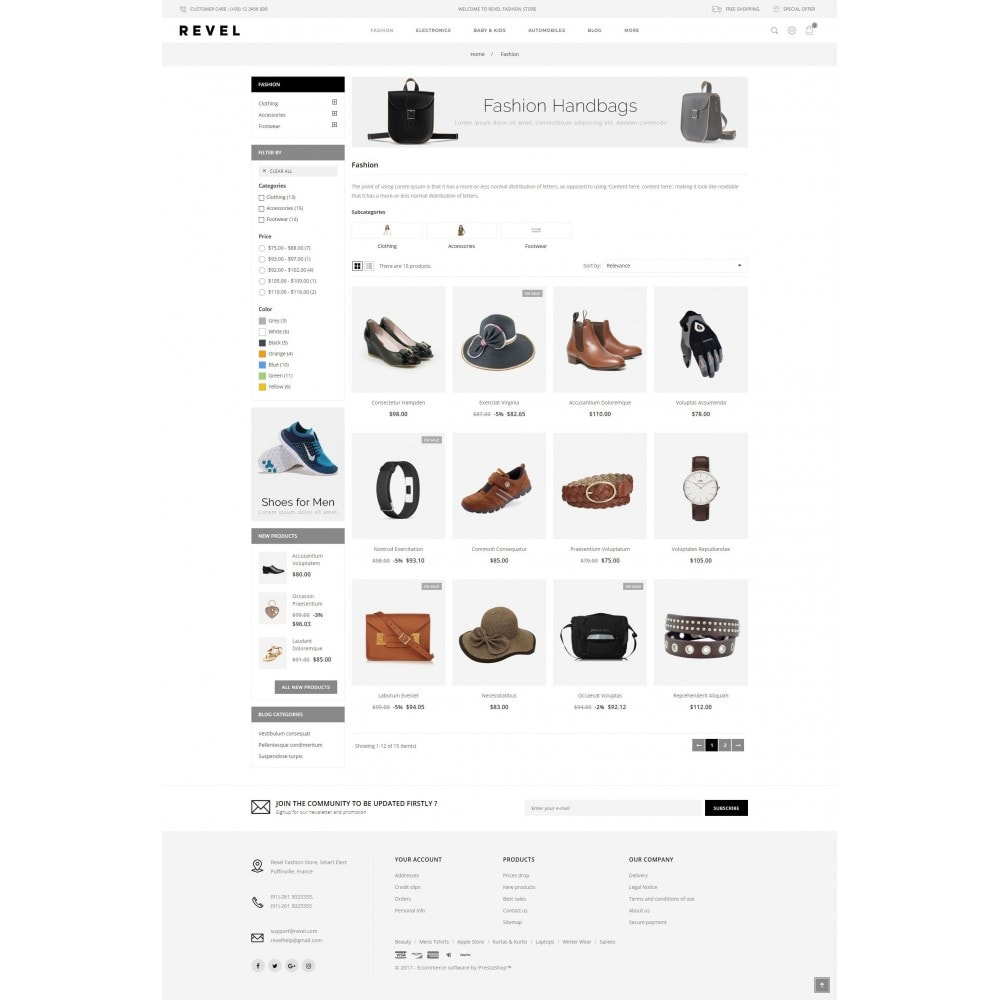 theme - Mode & Chaussures - Revel Fashion Store - 3