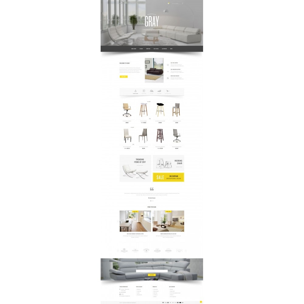 theme - Casa & Giardino - Gray Furniture Store - 2