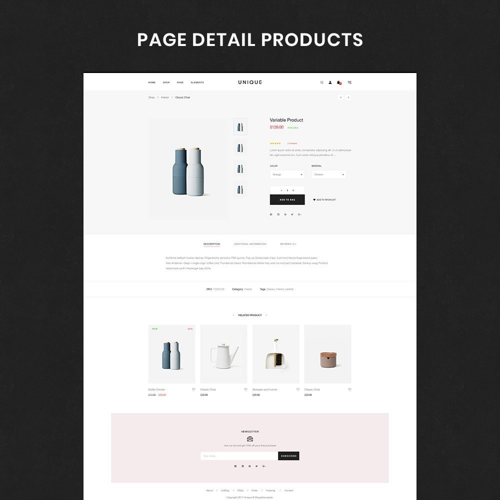 theme - Dom & Ogród - Unique Store Responsive Multiple Prestashop Theme - 3