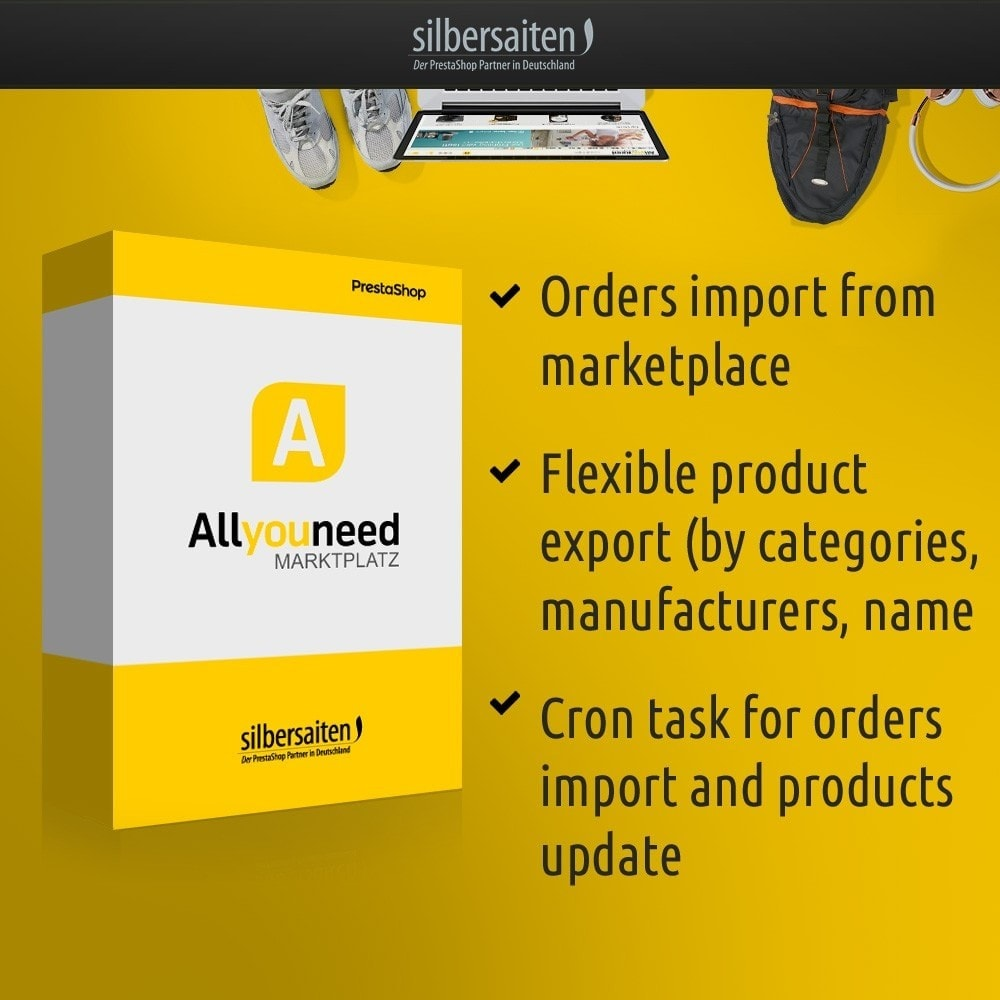 module - Revenda (marketplace) - Allyouneed Connector to DHL Marketplace - 1
