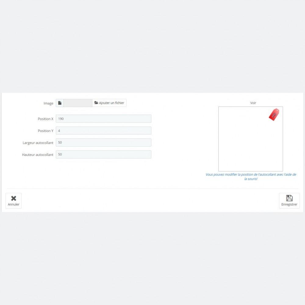 module - Etiquettes & Logos - Autocollants modifiés de Bobs - 6