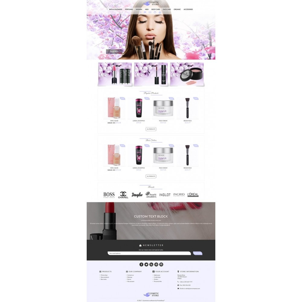 theme - Health & Beauty - Cosmetic Store - 2