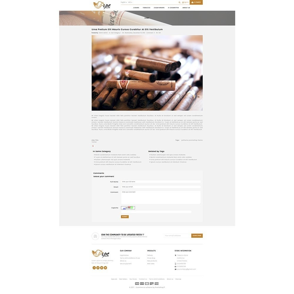 theme - Drink & Wine - Tobacco Store - 8