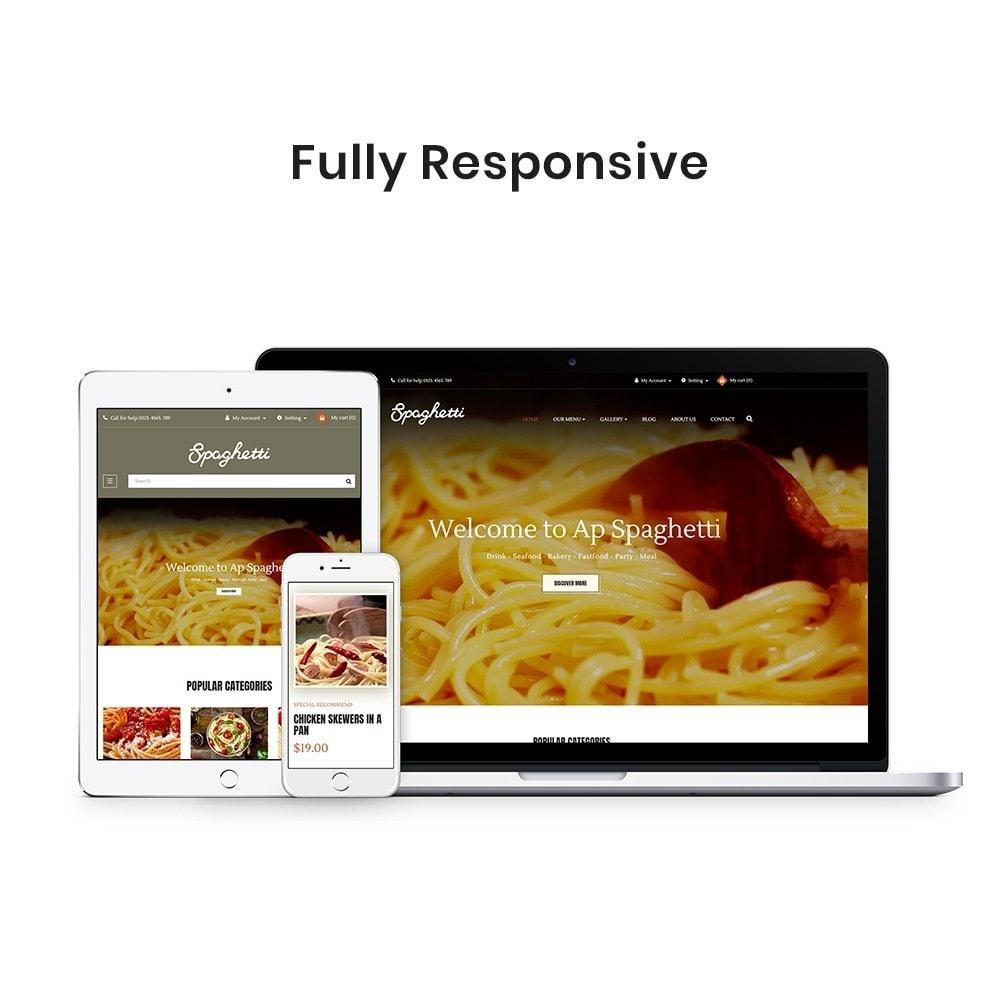 theme - Cibo & Ristorazione - Ap Spaghetti - 2