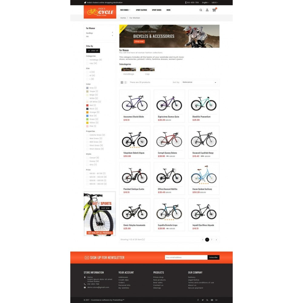 theme - Sports, Activities & Travel - Sports Bicycle - 3